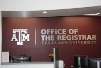 Texas A&M Office of the Registrar